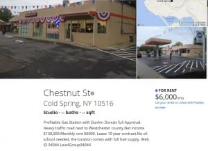The listing for Dunkin Donuts on Zillow.