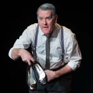 "Mikel Murfi in ""The Man in the Woman's Shoes"" (photo by Vitaliy Piltser)"