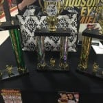 The three trophies won by Whistling Willies at Wingfest 9 (photo provided)
