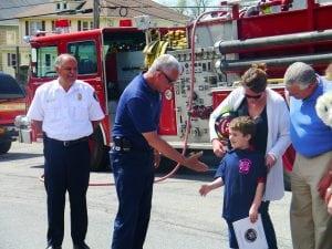 Beacon fire Chase Piotrowski