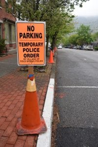 Parkingwillberestrictedonblocksastheyundergoconstruction.(PhotobyM.Turton)