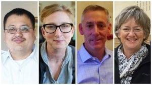 Tseng, Heuer, Rutkoske and Everett (photos provided)