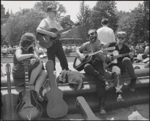 FolksingersinWashingtonSquareintheearly1960s (MuseumofCityofNew York)