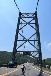 The Bear Mountain Bridge (photo by M. Turton)