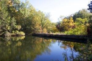 PartofthereservoirattheColdSpringwatersystemplantonFishkillRoad.(PhotobyKevinE.Foley)