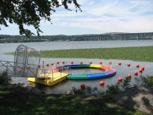 The Hudson River Pool is growing out of its Riverfront Park home in Beacon. (Photo provided)
