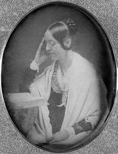 AdaguerrotypeofMargaretFullertakenin1846