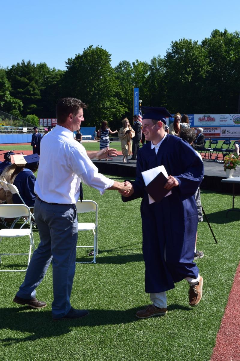 Beacon High School graduation