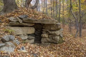 One of seven chambers at the Lockwood site in Mahopac (Photo by Renee Fleury)