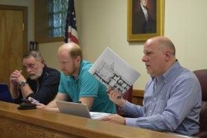 PlanningBoardChairMattFrancisco(far right) (Photo by M.Turton)