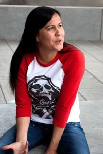 Poet Natalie Diaz (Photo by Cybele Knowles)