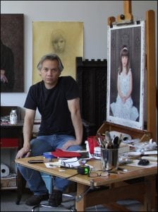 Paul McCormack in his studio (photo provided)