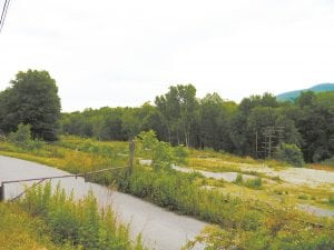The site of the Tioranda development (Photo by J. Simms)