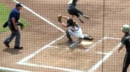 "Army Softball Leap in Running for ""Best Play"""