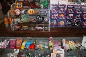 "Lotsoflittle""MadeInJapan""itemsfilltheshelvesatDreaminPlastic.(PhotobyA.Rooney)"