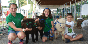 Kids and goats at the Putnam County Fair (photo provided)
