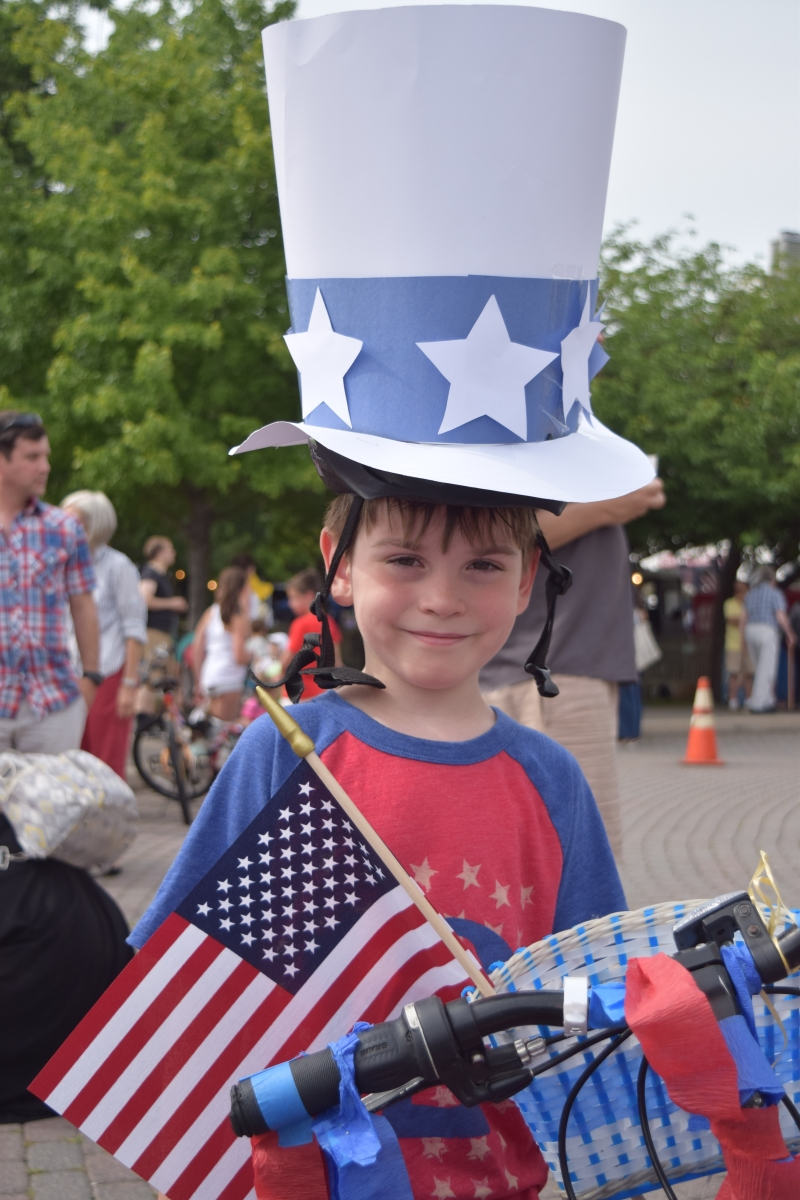 Patriotic Kid