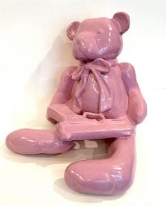 """""""Teddy with Glock,"""" by Don Mengay"""