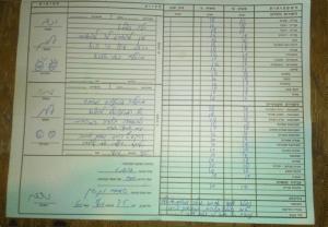 Thefirst-gradereportcardgiventoAlonbystudentsataWestJerusalemmarket(photoprovided)