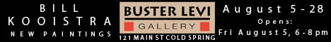 Buster Levi gallery show ad