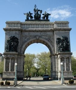 The Soldiers and Sailors Memorial at Prospect Park, Brooklyn (PhotobyJeffreyGustafson)