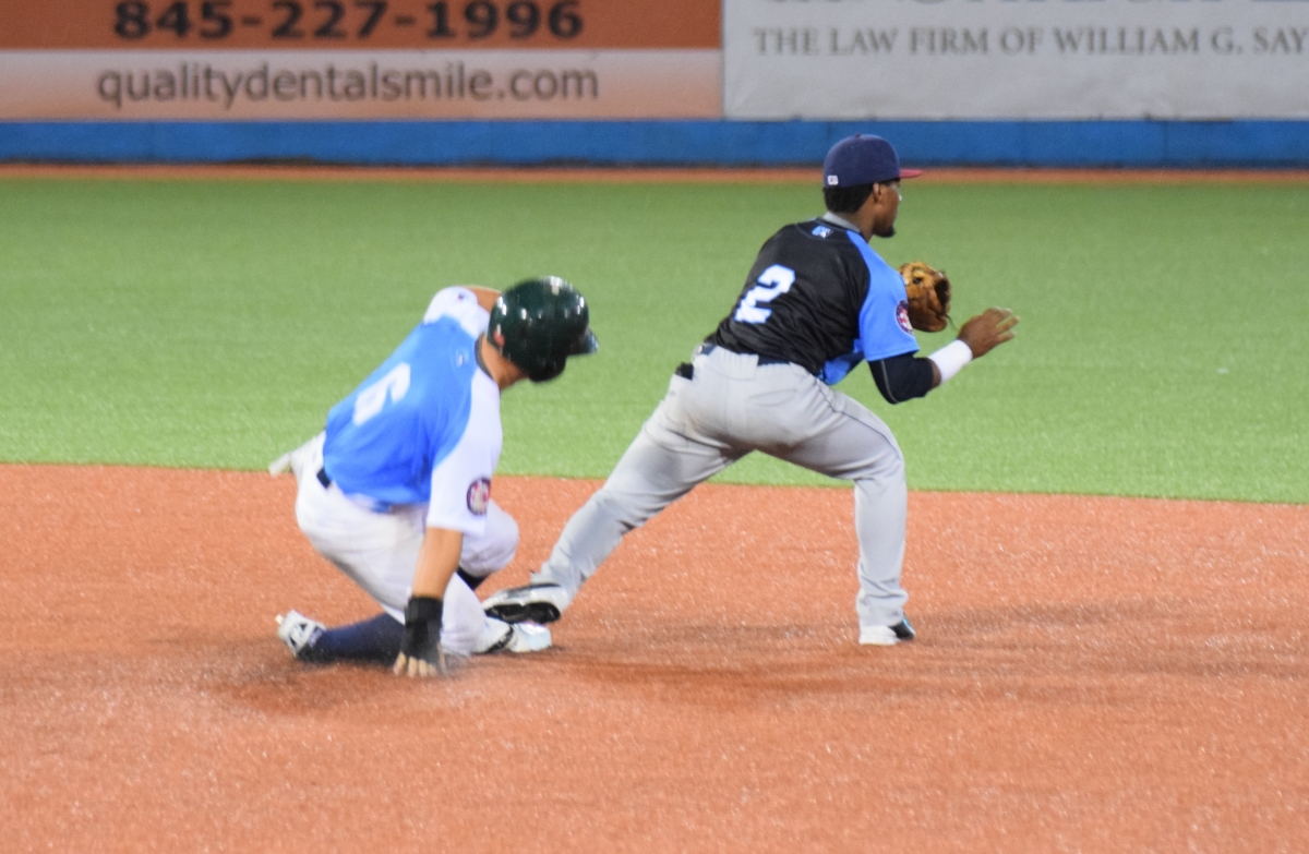 safe at second