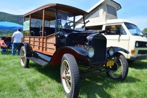 Larry Downey's 1923 Ford Depot Hack (photo by M. Turton)