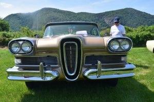 Tom Scuccimarra's 1958 Edsel (photo by M. Turton)