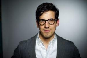 The journalist: AlexCuadros(PhotobyTedAlcorn)