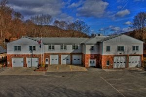 The Continental Village firehouse is located at 12 Spy Pond Road.