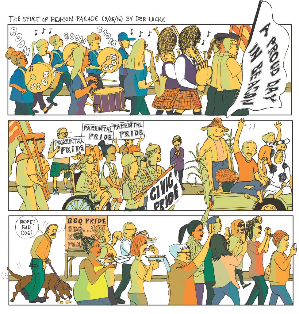 The Spirit of Beacon Parade by Deb Lucke