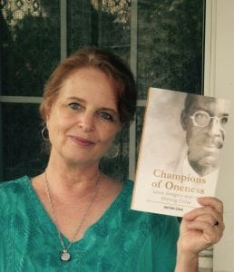 Janet Ruhe-Schoen with her latest book (photo provided)