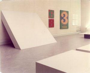 """Untitled(Wall-FloorSlab),""byRobertMorris,1964"