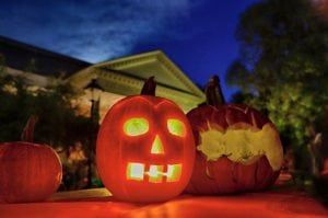 The annual Pumpkin Glow at the Desmond-Fish Library in Garrison takes place at 6 p.m. on Oct. 30. (Photo provided)
