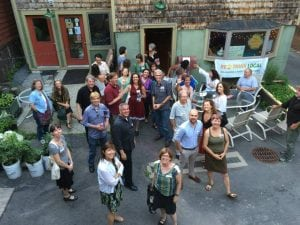 A recent gathering of Hudson Valley Current users (photo provided)