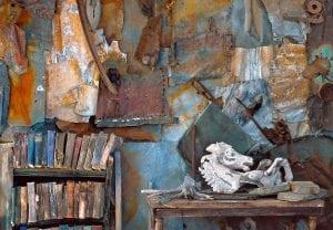 Rosamond Purcell's studio(Photo provided)