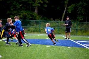 Tray Murphy flag football