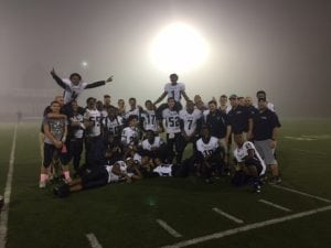 The Bulldogs after their win on Oct. 21 (Photo provided)
