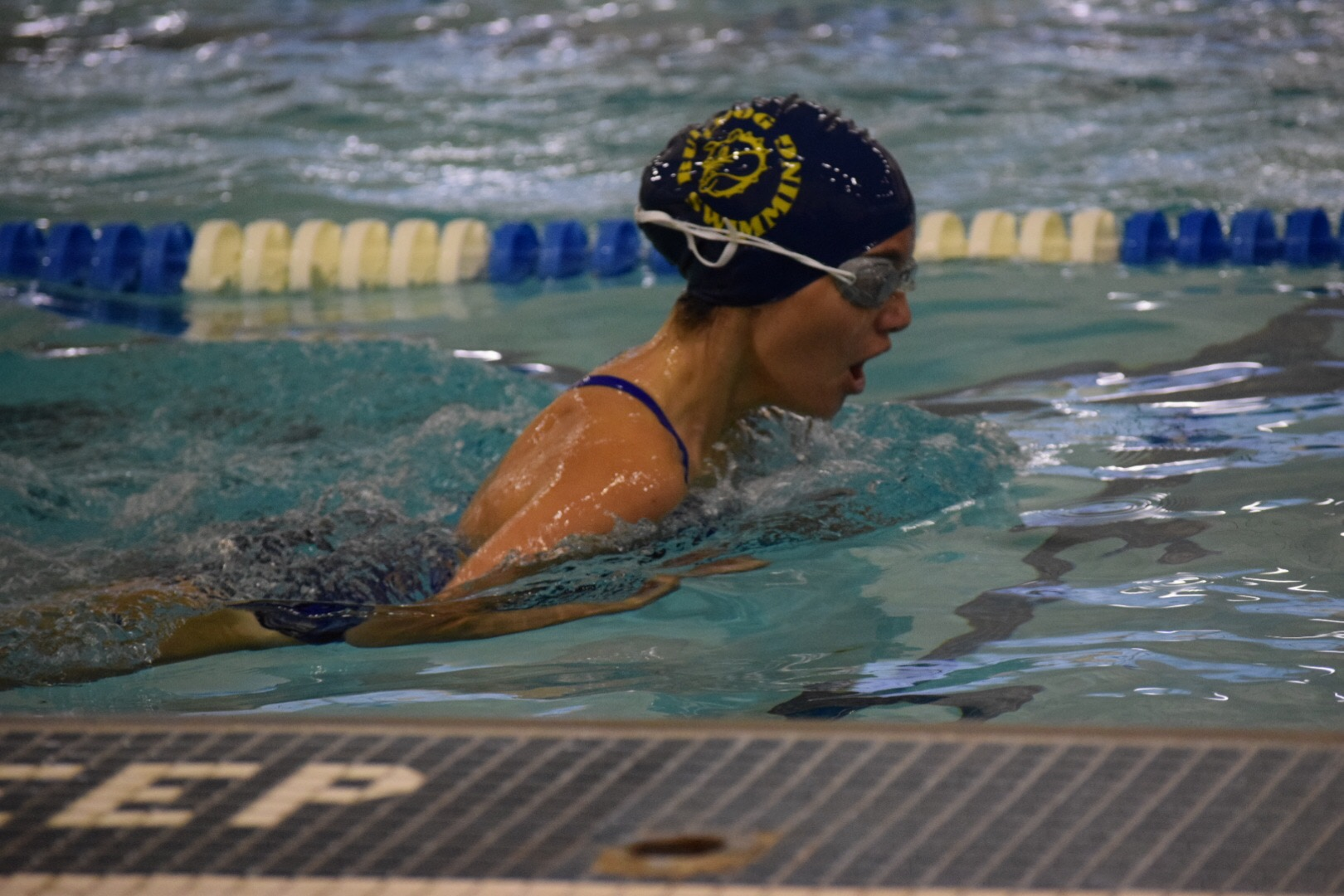 Kahlia Durso beacon swim