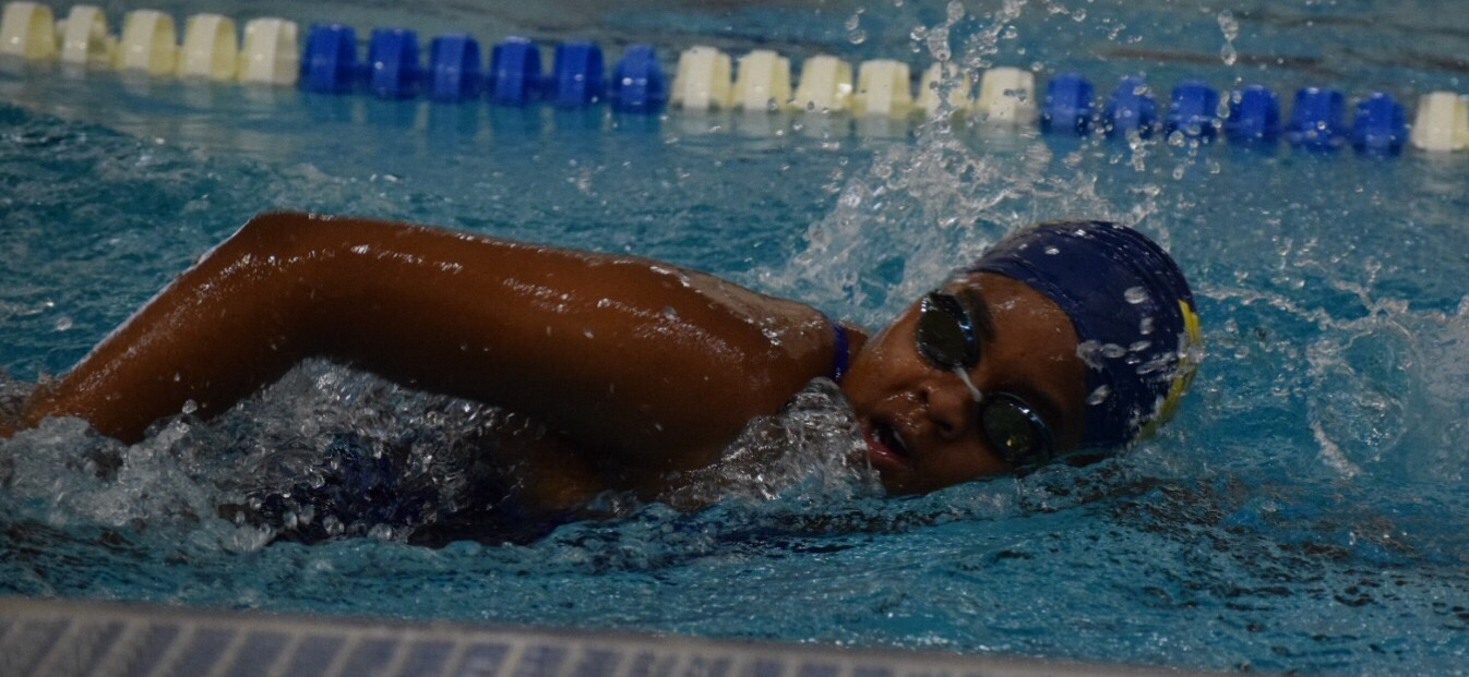 Dania Gillins beacon swim