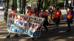 Marchers Say State Owes Schools $4 Billion