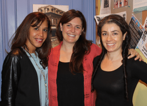 Luz Mejia Bailey, Erin Muir and Branis Buslovich (Photo by A. Rooney)
