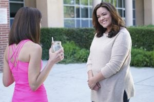 Katy Mixon, right, is shown in a scene from the American Housewife pilot. (Photo by Adam Taylor/ABC)