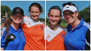 Nicole and Gabby Lucas; Chloe and Stacey Antalek (photos provided)