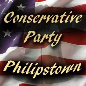 The logo of the Conservative Party of Philipstown