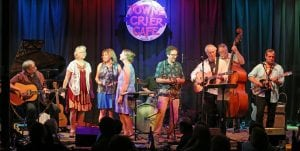 The Breakneck Ridge Revue is shown during its performance this past summer at the Towne Crier in Beacon.(Photo by Russ Cusick)