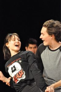 Grease in rehearsal (Photo provided)
