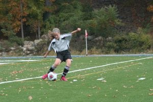 Mazzie Maxwell of the U13 Philipstown Raptors during the game against Cortlandt (Photo by Michael Martin)