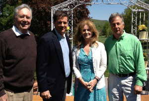 County Executive MaryEllen Odell with members of the Conservative Party of Putnam County after she received the party's endorsement in 2014.