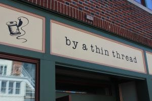 By a Thin Thread is located at 445 Main St. in Beacon (photo by A. Rooney)